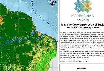 La Amazonía perdió bosque nativo equivalente al territorio del Ecuador en los últimos 17 años