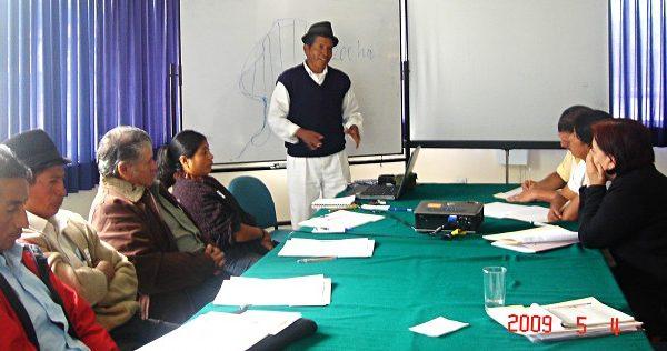 EcoCiencia - Fortalecimiento de capacidades locales a través del Grupo de Trabajo en Páramos del Ecuador, Fase II
