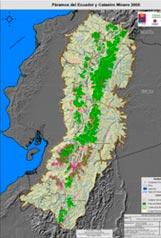 Análisis Geoespacial y estadístico preliminar de la actividad minera en los páramos del Ecuador