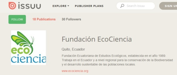 issuu ecociencia web