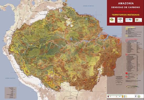 Amazonía Densidad de Carbono