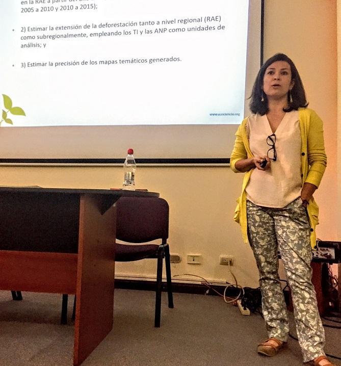 EcoCiencia participa en la CONFIBSIG 2017 y publica sus resultados de deforestación