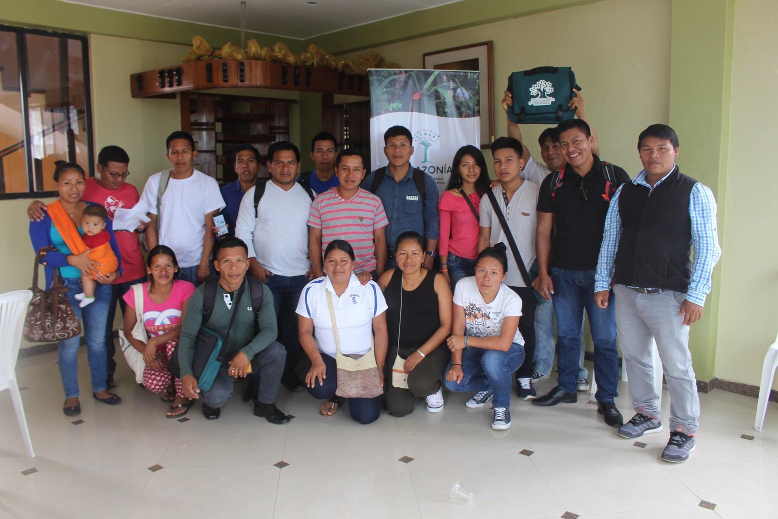 Proyecto Amazonia 2.0: Primera Reunión para Nearaanis –técnicos comunitarios- de la Veeduría Waorani