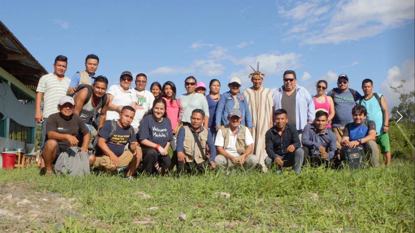 EcoCiencia realiza intercambio internacional de experiencias de veedurías y monitoreo de bosques indígenas con Perú