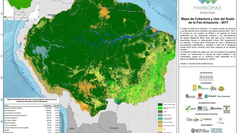 Mapa_Mapbiomas_Pan_Amazonia_2017_Col_1_Albers_V2